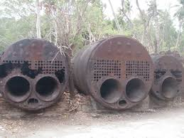 boilers-at ross islands