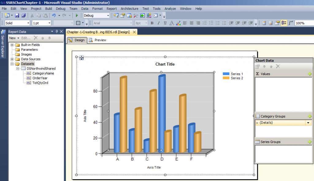 Chart Data Properties